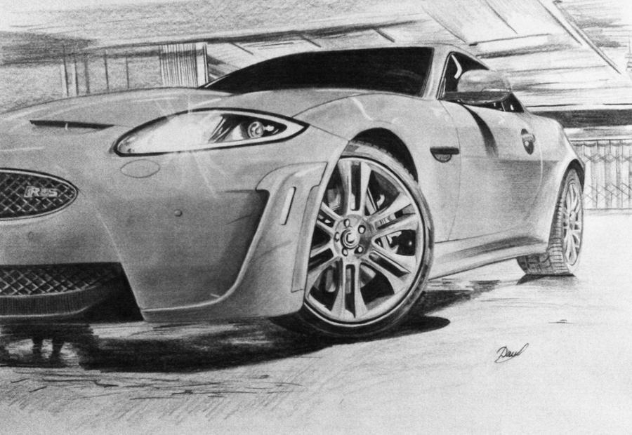Jaguar XKR-S by anna-solitaire