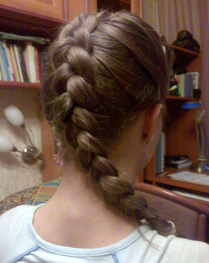 This Is An Inside Out French Braid Or A Dutch Braid I Did Not Do This