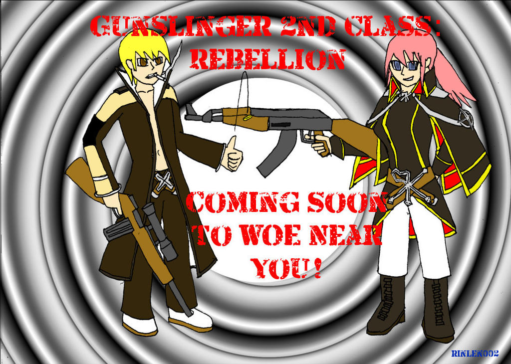 Gunslinger and Rebellion Classes Ragnarok Online by rinlen002 on