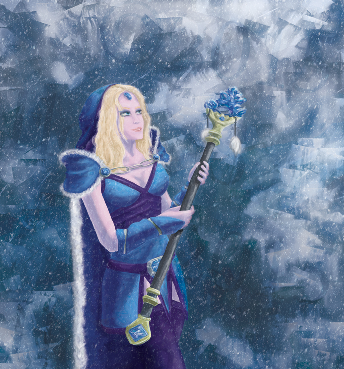 Crystal Maiden by ili-chan