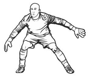 Soccer Goalie by Jumbienutes