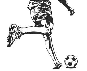 Soccer kick by Jumbienutes