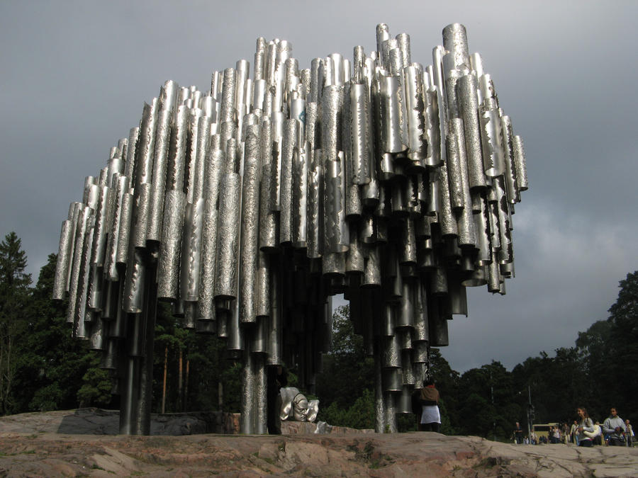 Sibelius monumentti by Efrew on DeviantArt