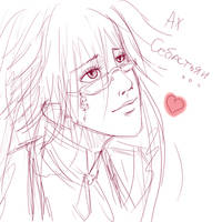 Grell not anime style by Ripushko
