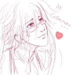 Grell not anime style