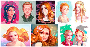 portrait commissions (pac 2) by Ripushko