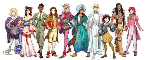 Historical costumes by Ripushko
