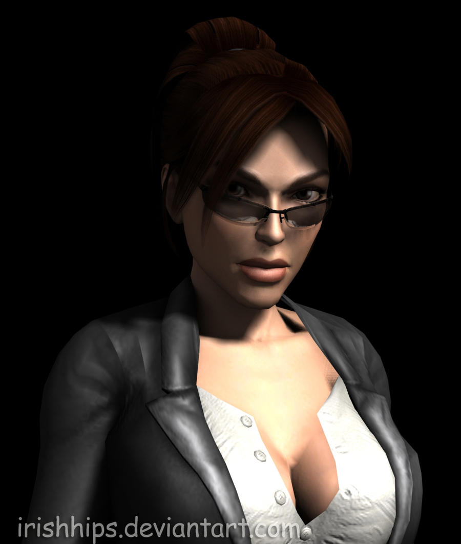 3d Tomb Raider Wallpaper: Lara Croft: Looking Cool By Irishhips On DeviantArt