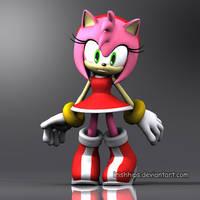 Amy Rose: Sonic's Ultimate Fan by Irishhips
