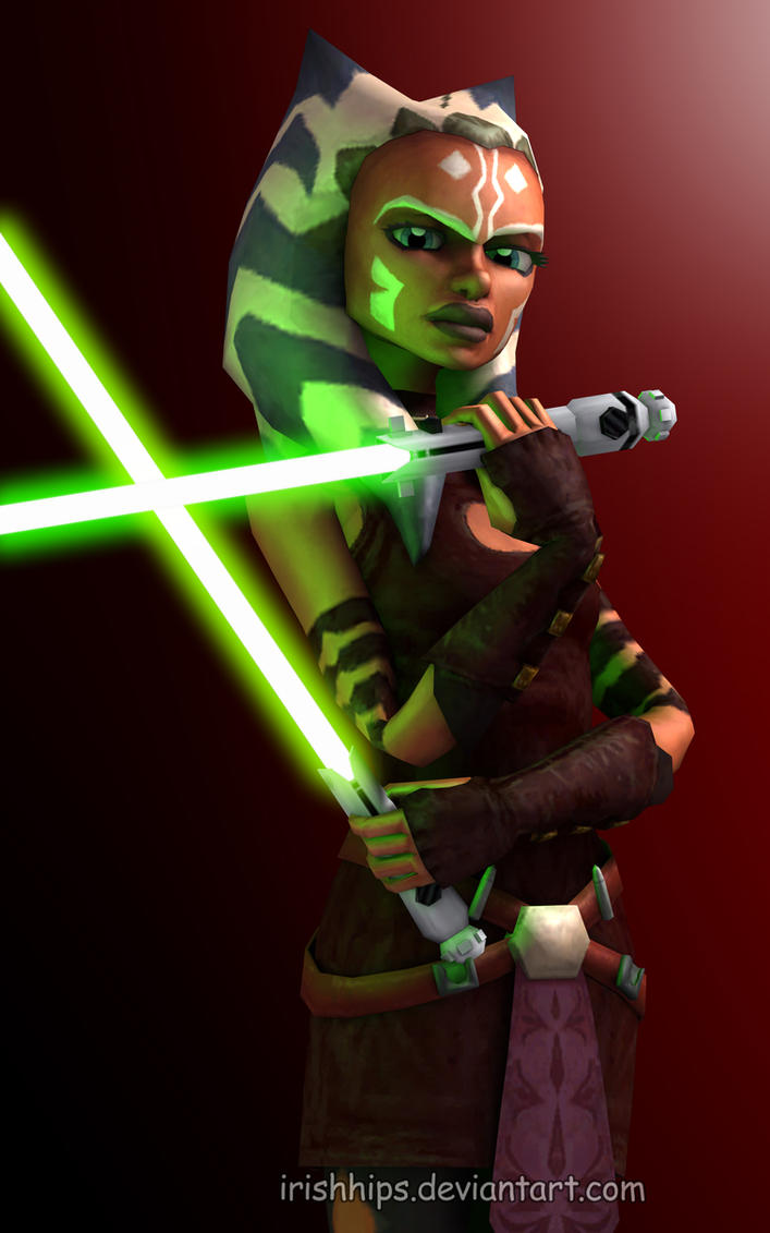 Ahsoka Tano: Confident by Irishhips