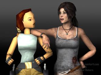 Tomb Raider 2013: Reboot with Classic by Irishhips