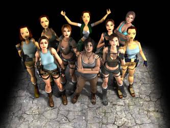 Tomb Raider: Lara Croft....The Legacy by Irishhips