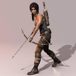 Tomb Raider 2013: The Survivor by Irishhips