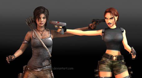 Tomb Raider: The Stand Off by Irishhips