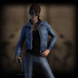Tomb Raider Reboot: AOD Lara Croft by Irishhips