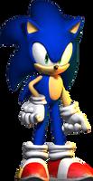 Sonic The Hedgehog HD by Irishhips