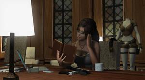 Tomb Raider: Lara Relaxing