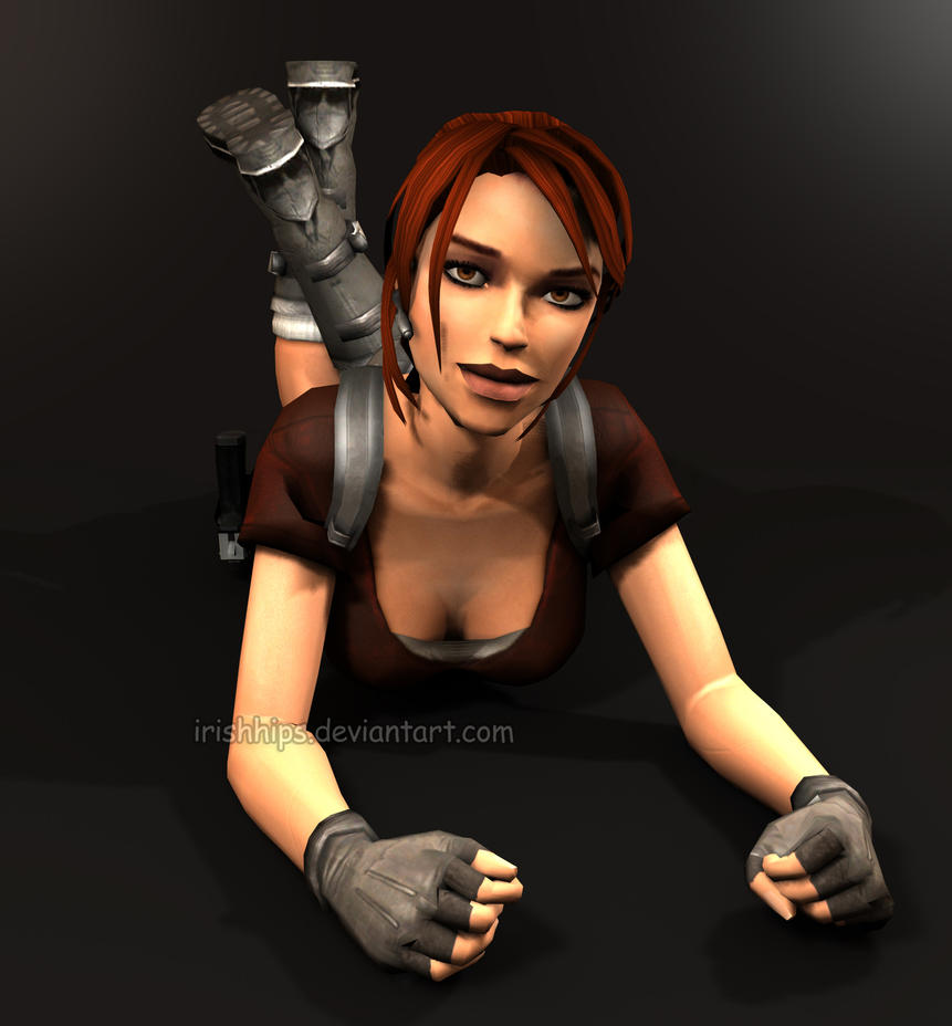 Tomb Rider Wallpaper: Tomb Raider Legend: Lara Croft (Tanya's Version) 2 By
