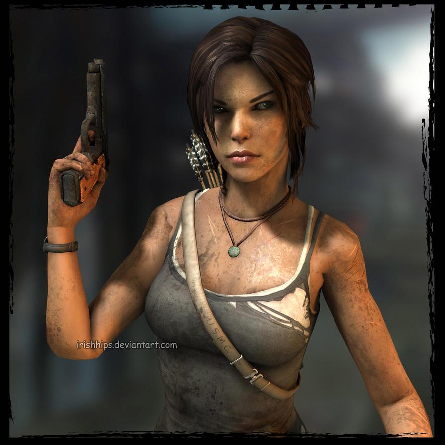 3d Tomb Raider Wallpaper: S**t Just Got Real! By Irishhips