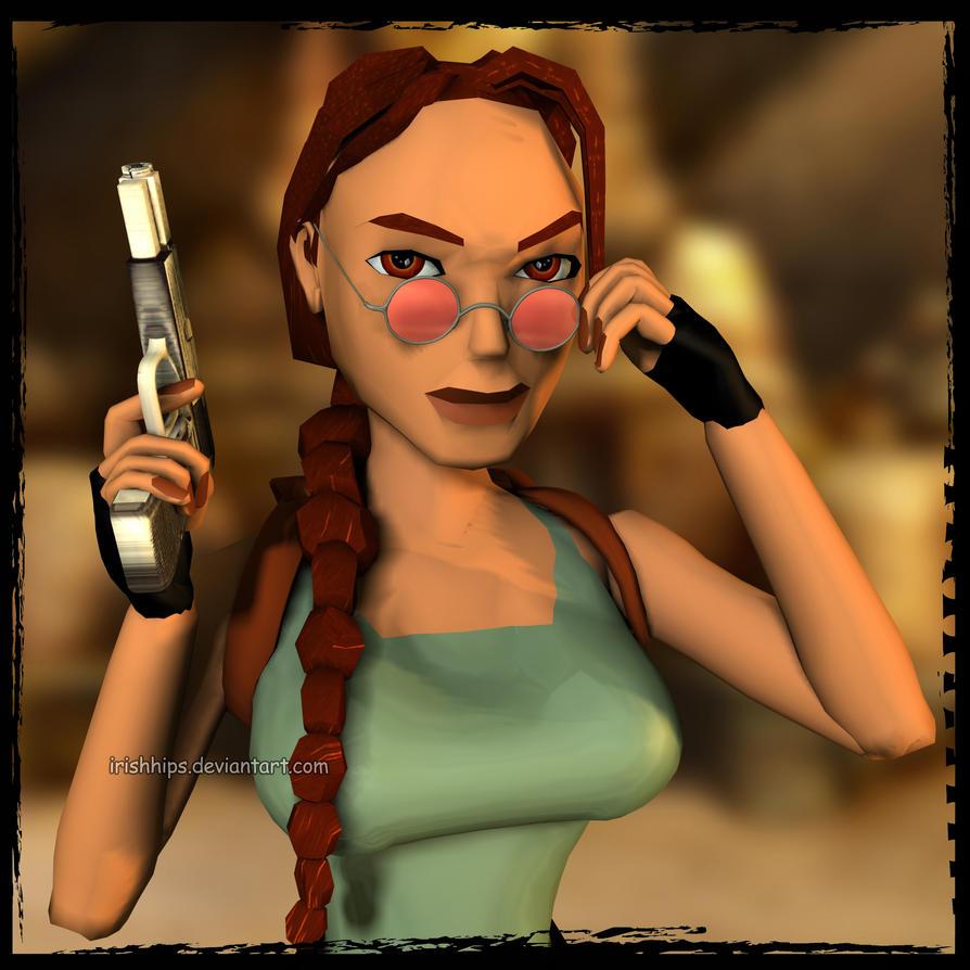 3d Tomb Raider Wallpaper: Tomb Raider: Looking Good, Lara By Irishhips On DeviantArt