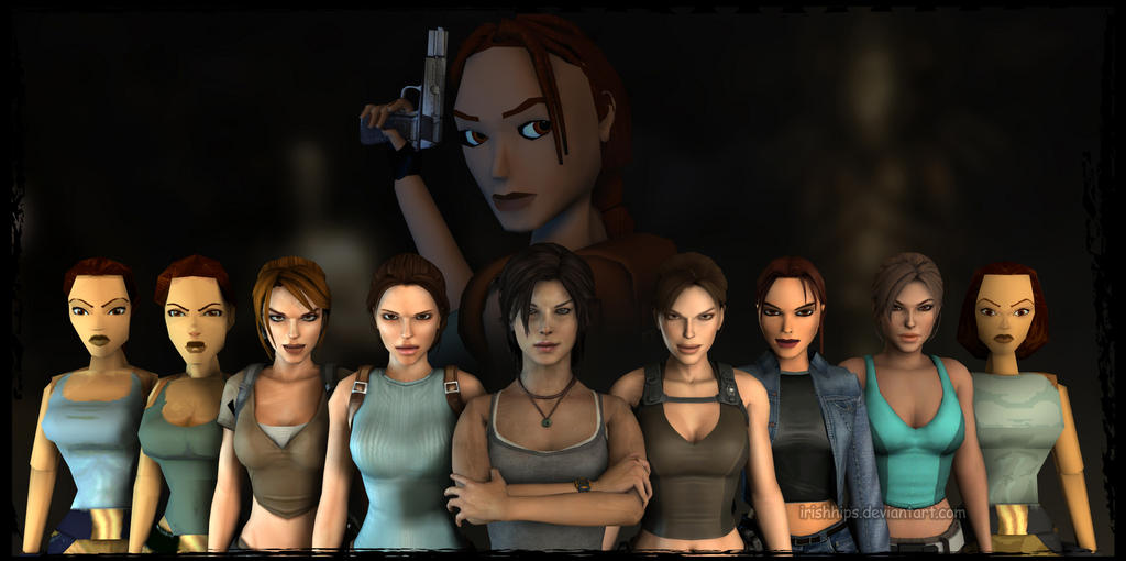 Tomb Raider: Happy Birthday, Lara Croft by Irishhips