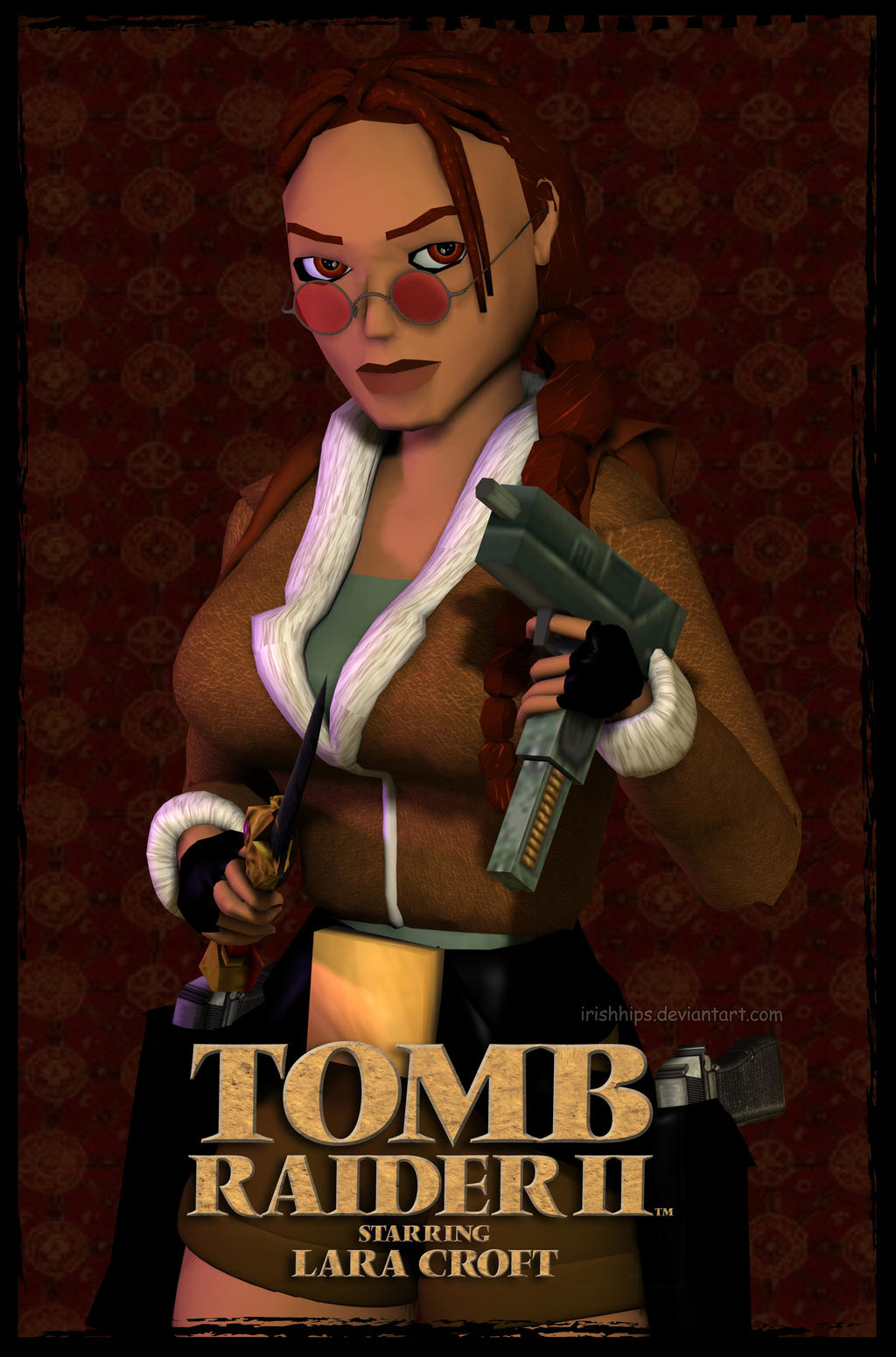 lara croft tomb raider ii