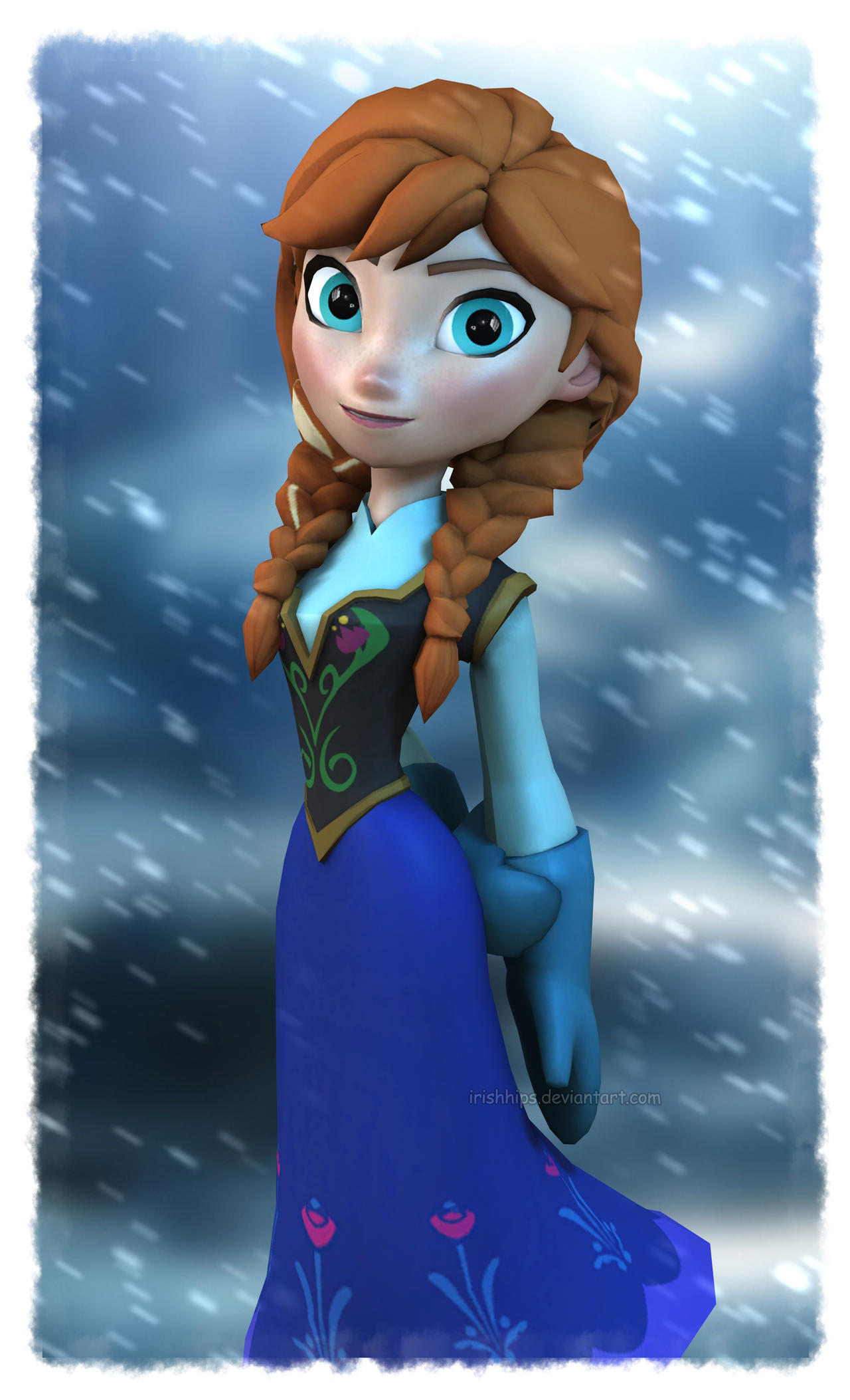 Game Frozen Elsa Clean Room
