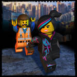 The Lego Movie: Emmet and Wyldstyle