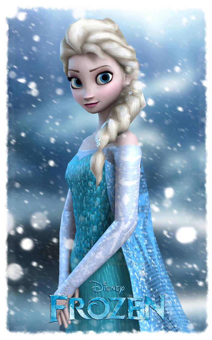 disney s frozen elsa the snow queen by irishhips on deviantart