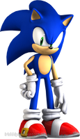 Sonic The Hedgehog (Boredom Result) by Irishhips