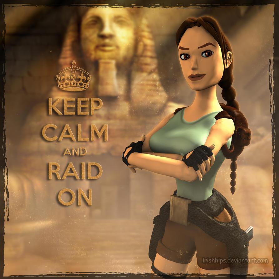 Classic Tomb Raider Wallpaper: Tomb Raider Classic: Keep Calm By Irishhips On DeviantArt