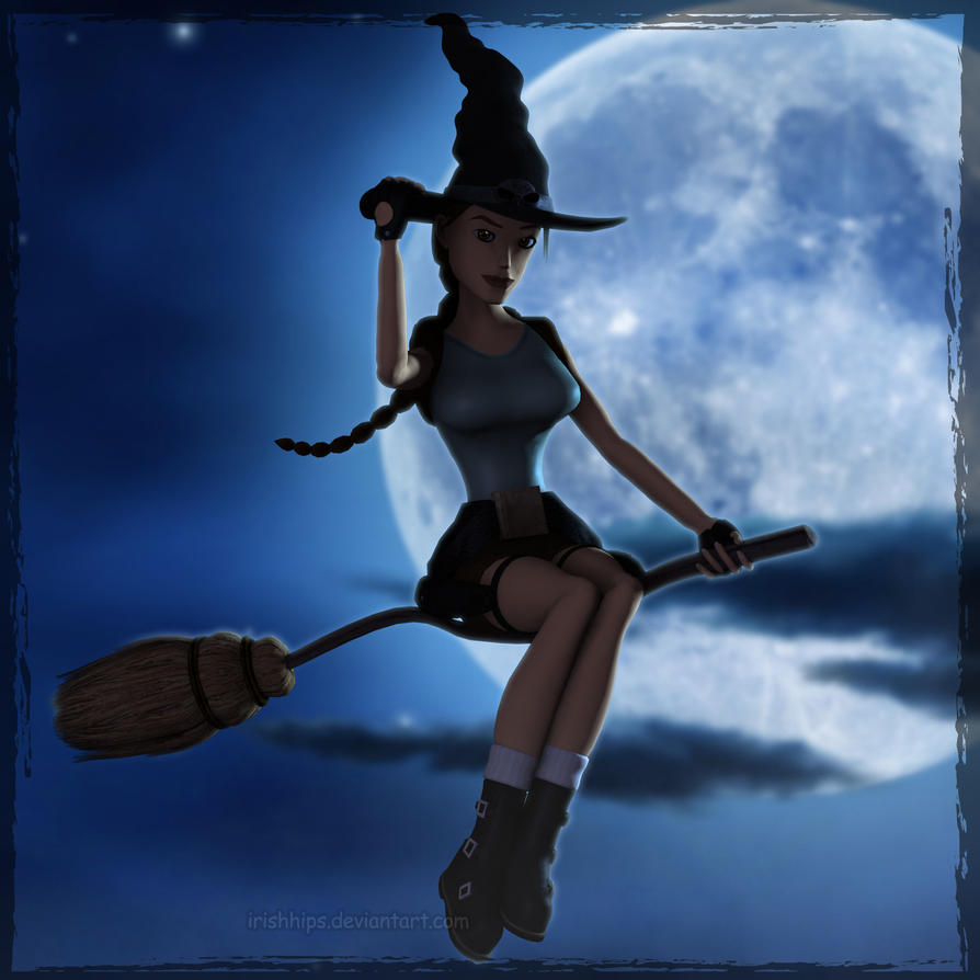 Tomb Raider Classic: Happy Halloween 2014 by Irishhips