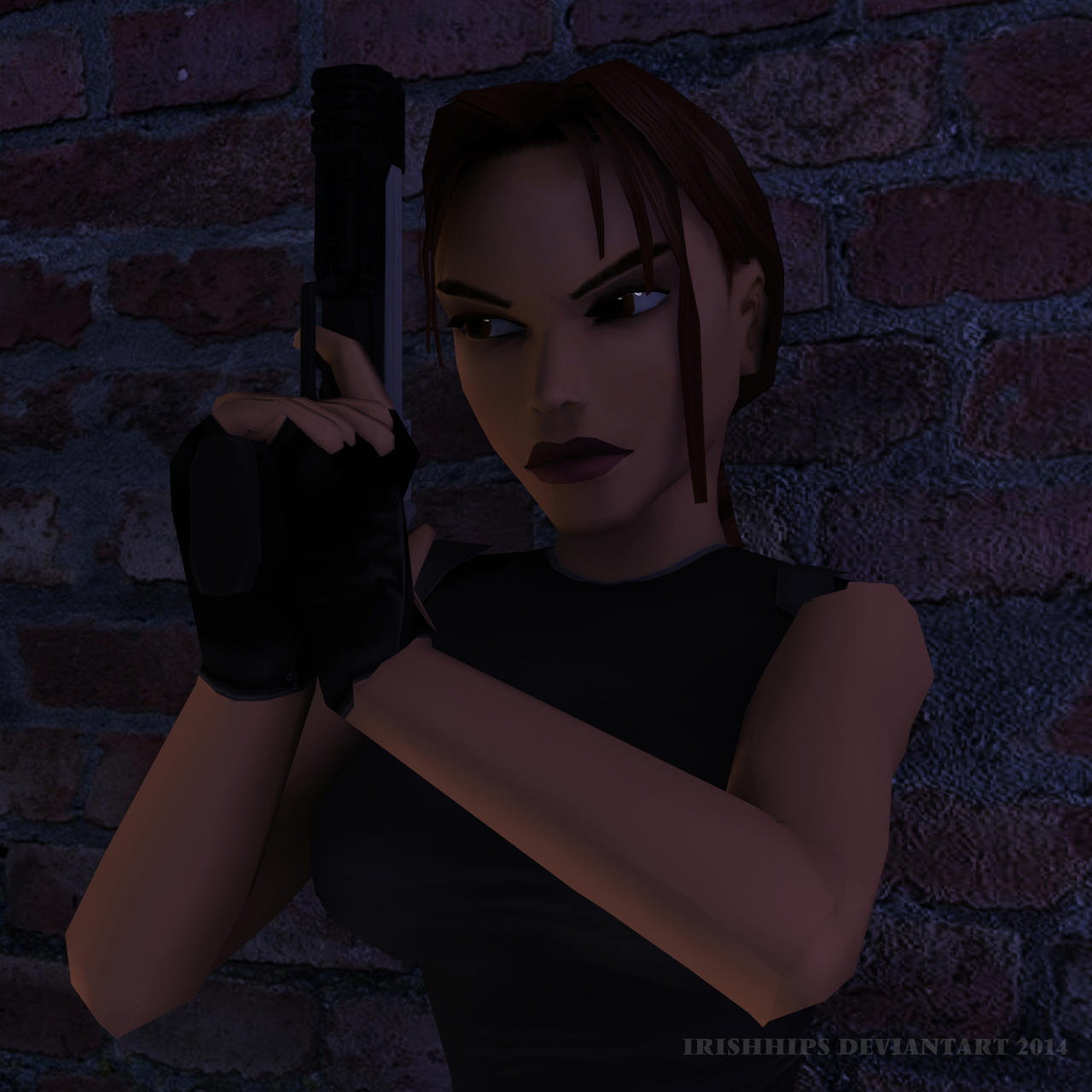 Classic Tomb Raider Wallpaper: Tomb Raider Classic: Waiting Out On The Heat By Irishhips