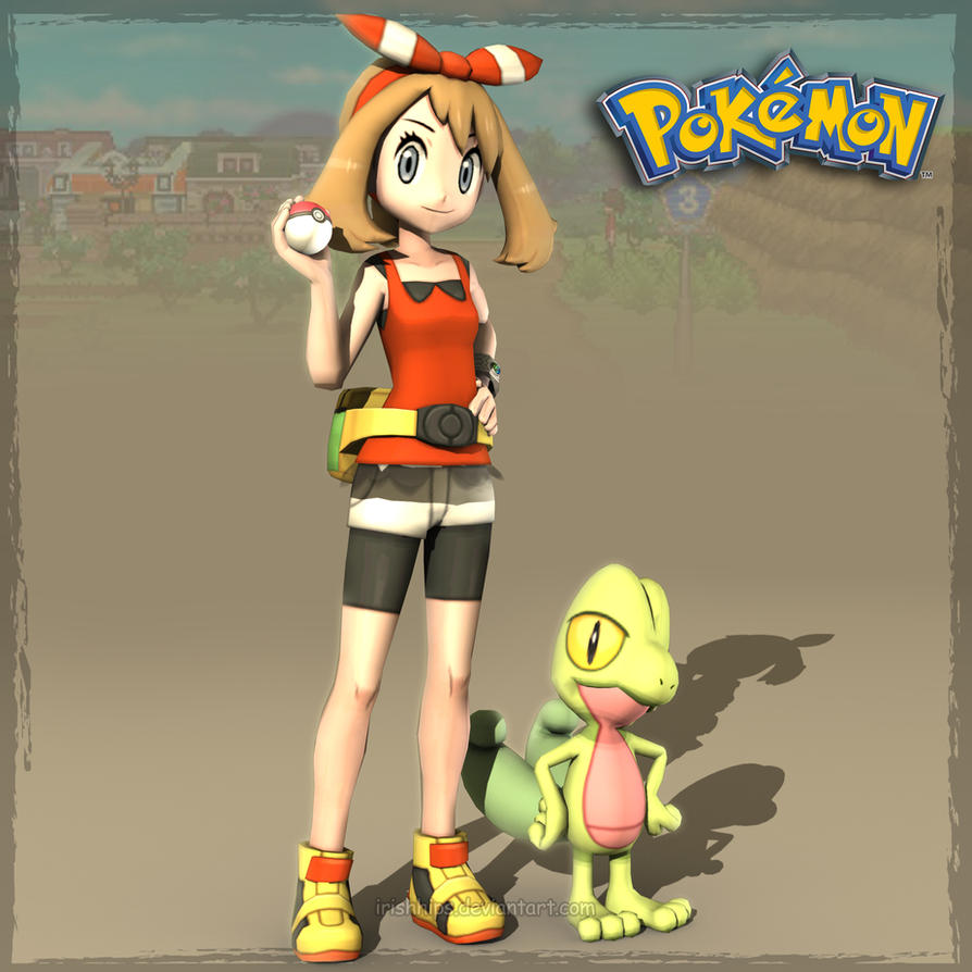 Pokemon: May by Irishhips