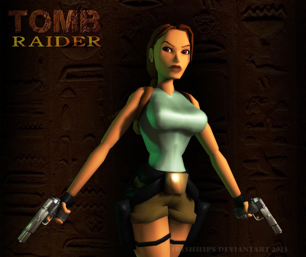 Tomb Raider Classic: The Original Cover by Irishhips