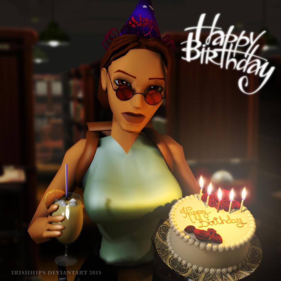 Classic Tomb Raider: Happy Birthday, Lara by Irishhips