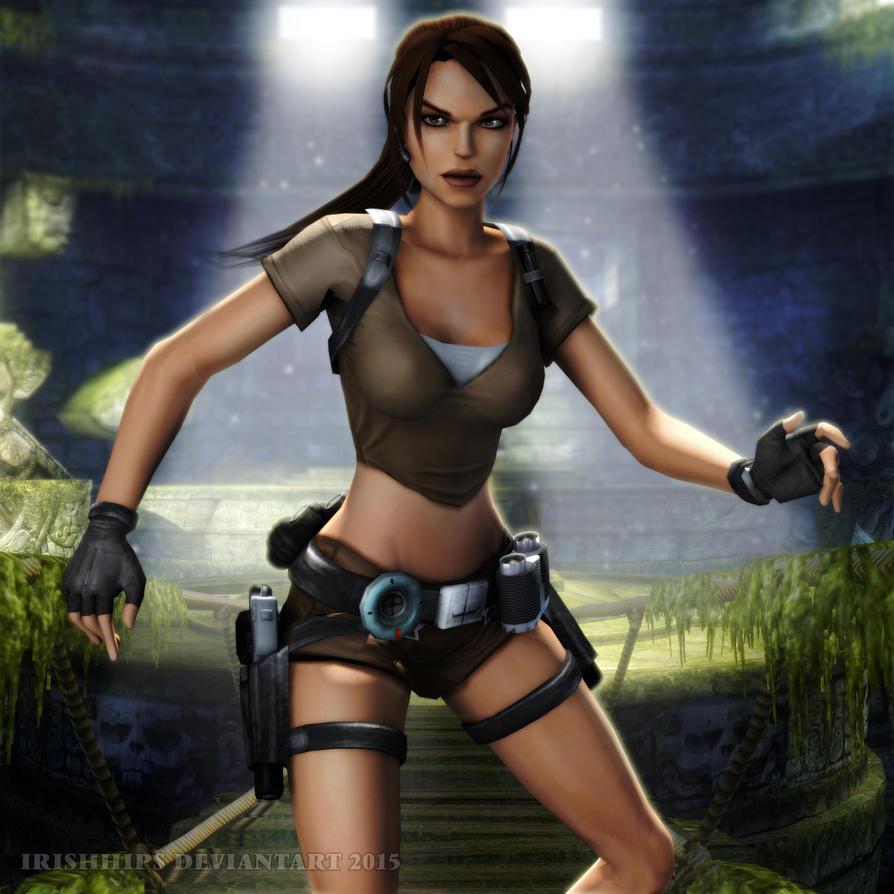 Tomb Rider Wallpaper: Tomb Raider Legend: Lara Croft 2 By Irishhips On DeviantArt