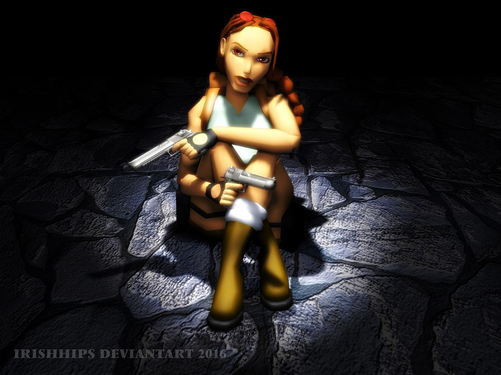 Tomb Raider Classic: Taking A Breather by Irishhips