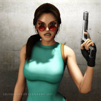 Tomb Raider Classic: Get Lost, Jerk!! by Irishhips