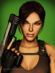 Tomb Raider Underworld: Stare Down