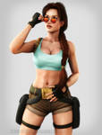 Tomb Raider: Adusting