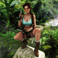 Tomb Raider: Waiting For A Prey by Irishhips
