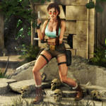 Tomb Raider: Careful Now...