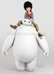 Big Hero 6: Hiro and Baymax