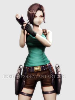 War Of The Visions (FFBE) - Lara Croft