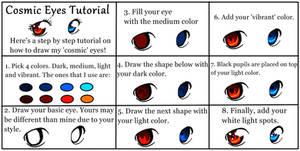 'Cosmic' Eye Tutorial
