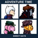 Adventure Time Album Cover: Sweet Days
