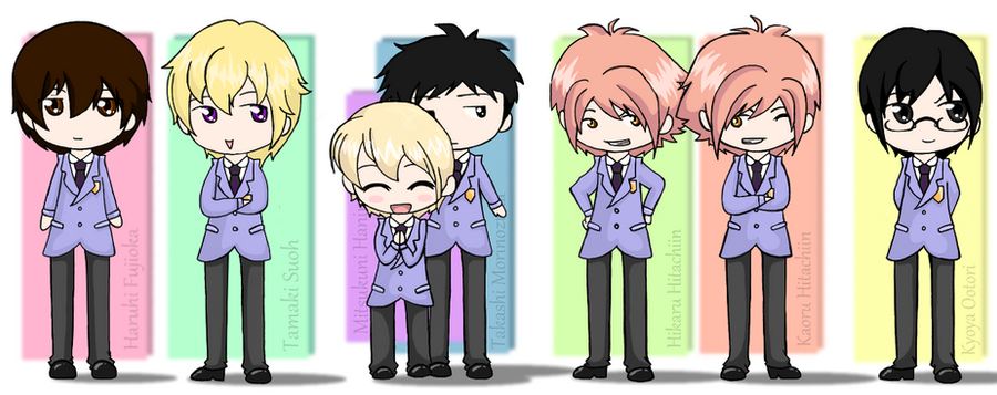 Ouran Host Club by Queen-Of-Cute