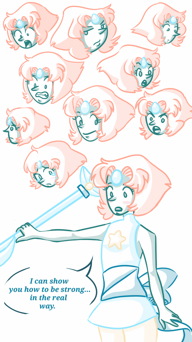 Pearl Study by Queen-Of-Cute