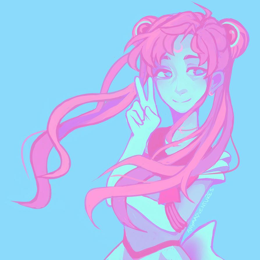 Sailor Moon by ninja1589